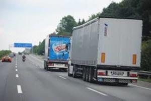 Camion pour transport en déménagement
